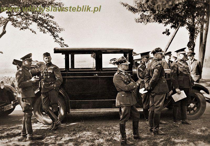 1934 manewry Wermachtu. Na pierwszym planie mjr W. Steblik