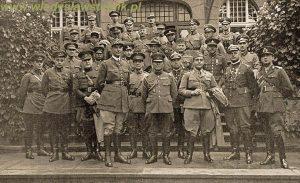 1936 - Przed wyjazdem na manewry Wermachtu