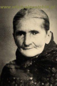 Maria Steblik - matka