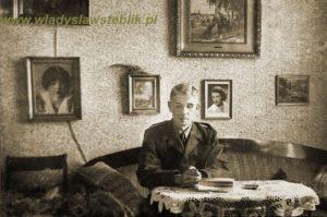 Władysław Steblik po powrocie do ojczyzny.