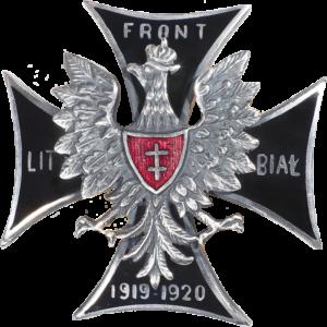 """Odznaka pamiątkowa """"Front Litewsko-Białoruski"""""""